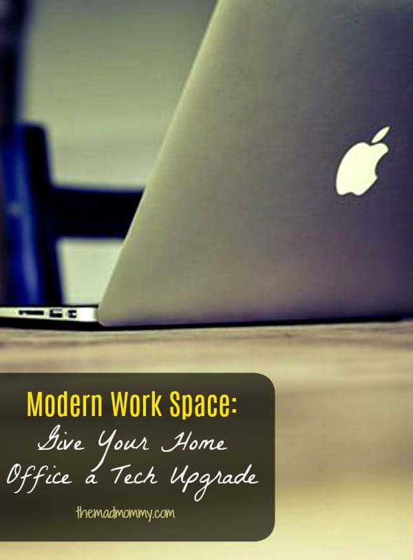 Modern Work Space: Give Your Home Office a Tech Upgrade