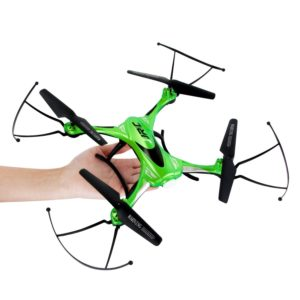 "Drones are all the rage right now and this RC Quadcopter will have your kid screaming, ""THANK YOU!""."