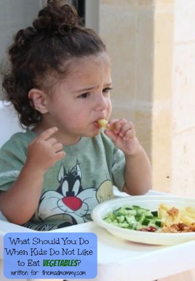 When compared to meat products such as chicken and hotdogs, vegetables won't get picked. So, what should you do when kids do not like to eat vegetables?