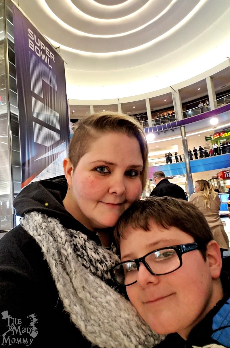 Check out our mother and son date at the Mall of America!