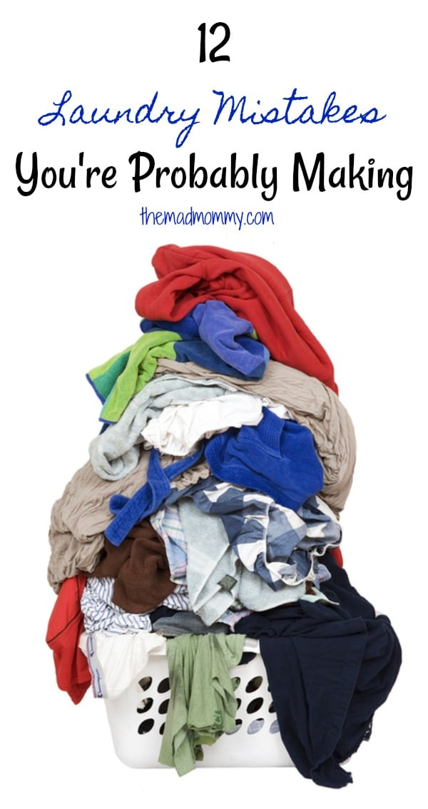 Despite the technological advancements, washing your clothes and other garments is still a difficult process and one that many of us make mistakes when doing! Fortunately, you can discover and rectify the 12 most common laundry mistakes here!