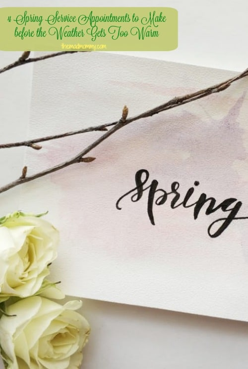 Instead of shaking your head in confusion or resting on a misplaced hope that everything will take care of itself, start with this basic guide to the top four spring service appointments that you should make for your home before the weather gets too warm.