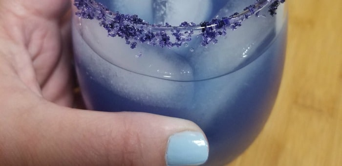 """I know that Prince didn't allow alcohol at Paisley Park, but I decided to make a cocktail/mocktail recipe to honor him! After all, it was Prince that said, """"But life is just a party and parties weren't meant 2 last!"""". This is The Purple One!"""