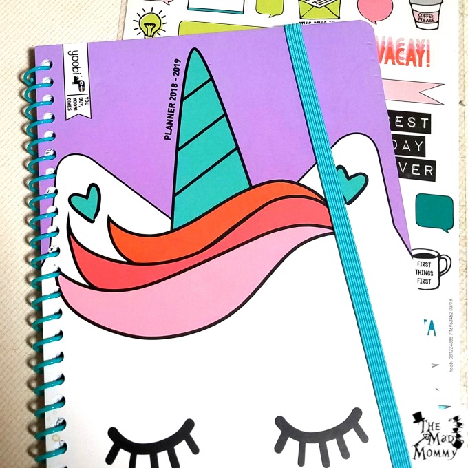 I love this Yoobi Planner from Target!