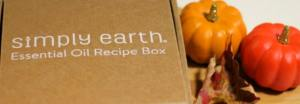 Simply Earth's October Essential Oils Box
