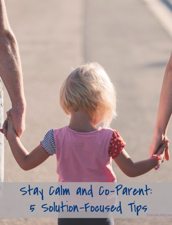 Divorce and shifting family configurations can lead to messy, even volatile emotions. Check out these 5 tips for staying calm and co-parenting.