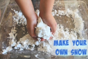 Enjoy playing with snow year-round when you make your own snow. It's a simple, fun project that kids will enjoy.