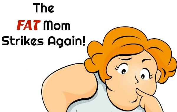 """My daughter showed me a new feeling. One that I knew would rear it's ugly head eventually. She told me she might be embarrassed by me. My heart dropped into my stomach and because of my mental health, all I could think was, """"The Fat Mom Strikes Again""""."""