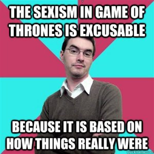 Game of Thrones Sexism