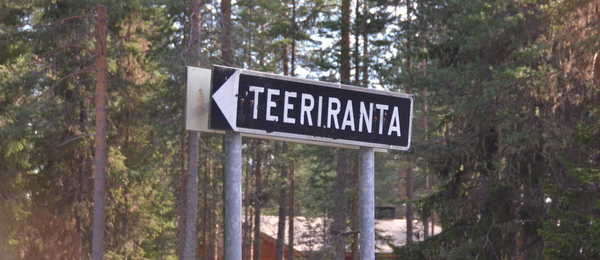 teeriranta-sign