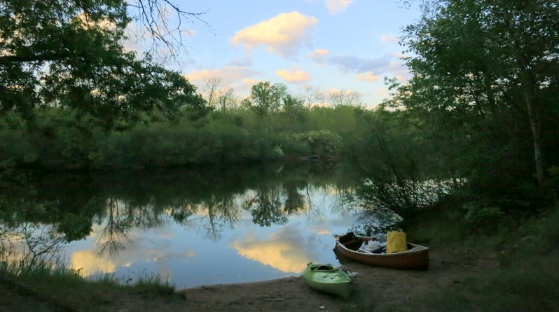 Canoe Camping on the St. Croix and Namekagon Rivers