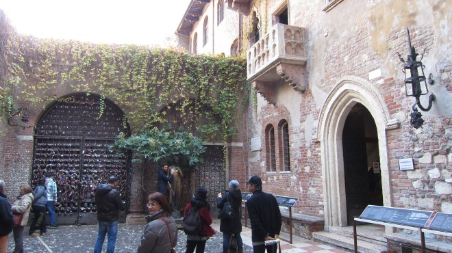 Juliet's courtyard