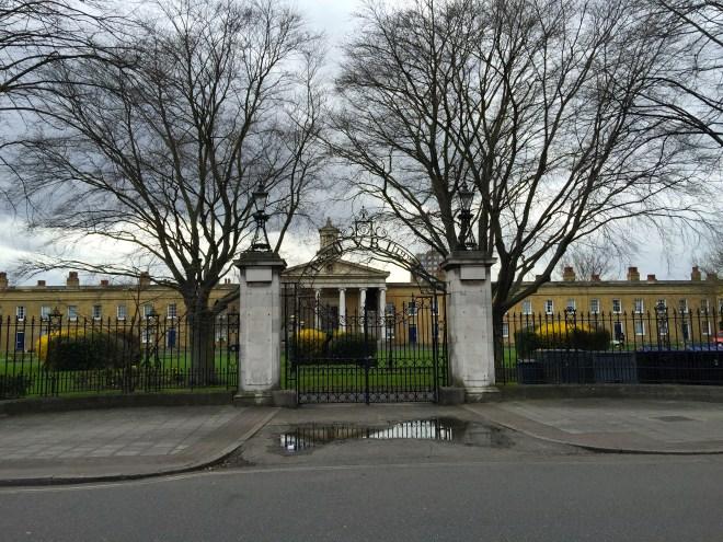 Asylum Chapel in Caroline Gdns