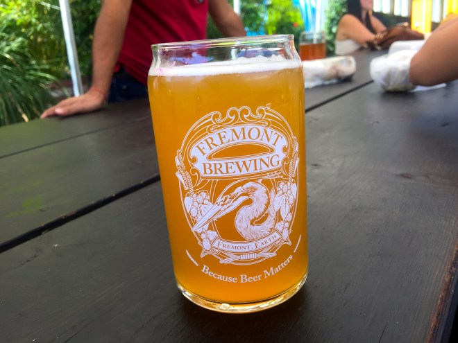 One of the independent breweries in the area.