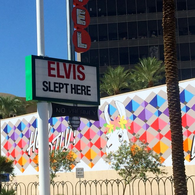 Elvis is still a big presence in Las Vegas