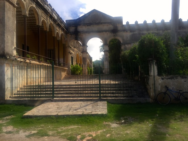 a hacienda just outside of Merida