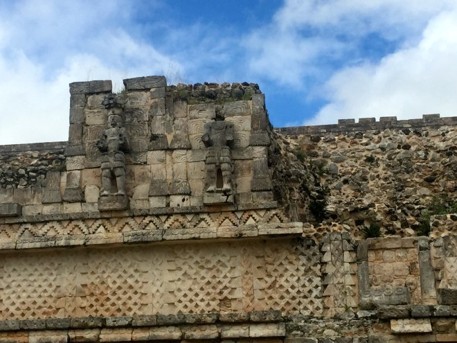 Ruins at Kabah.  Smaller and much quieter than the more well known places.