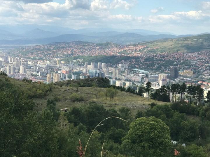 view of Sarajevo, Bosnia and Herzegovina