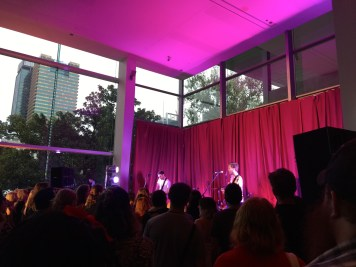 The band is called I heart Hiroshima. They were part of the 10th birthday bash at GOMA