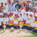 Diya Women Football club organizes 4 day training camp at Makli