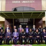Chief of the Naval Staff chaired Bahria University's bog meeting