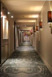 Creepy Hallway in the Delano