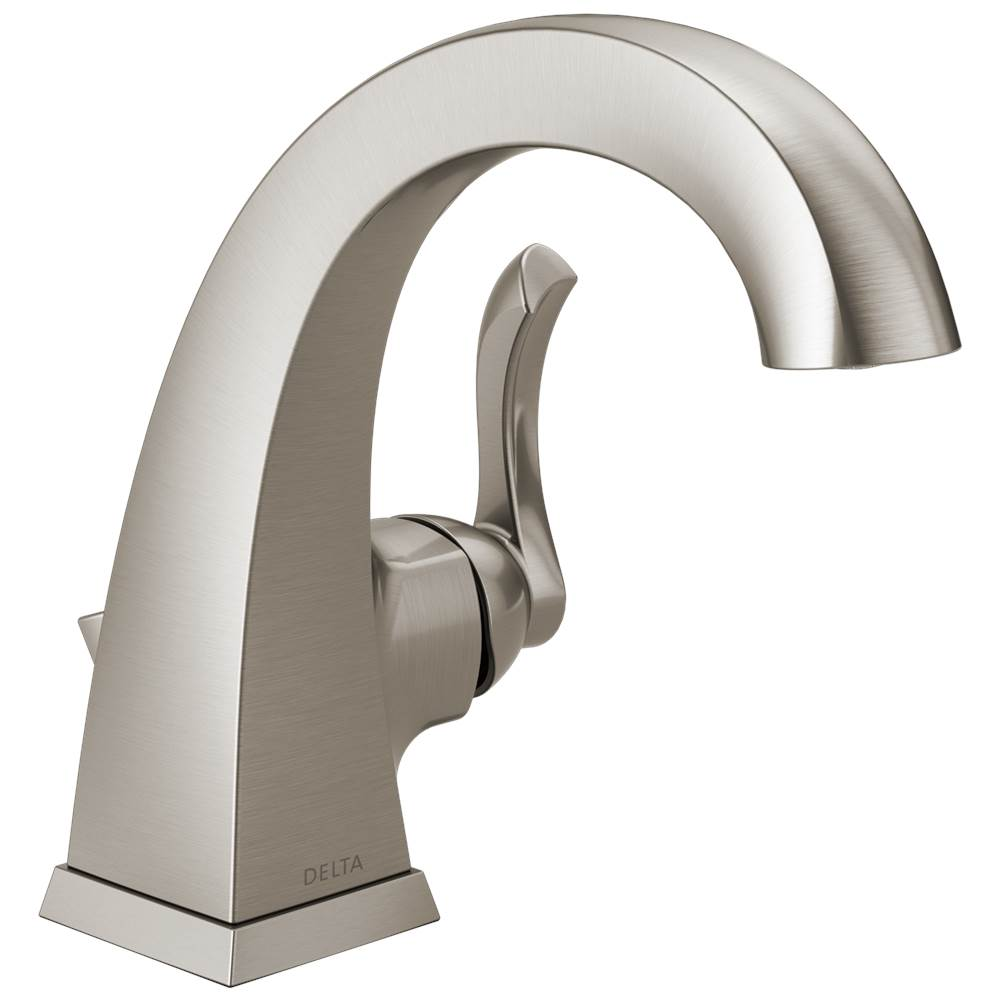delta faucet everly spotshield brushed