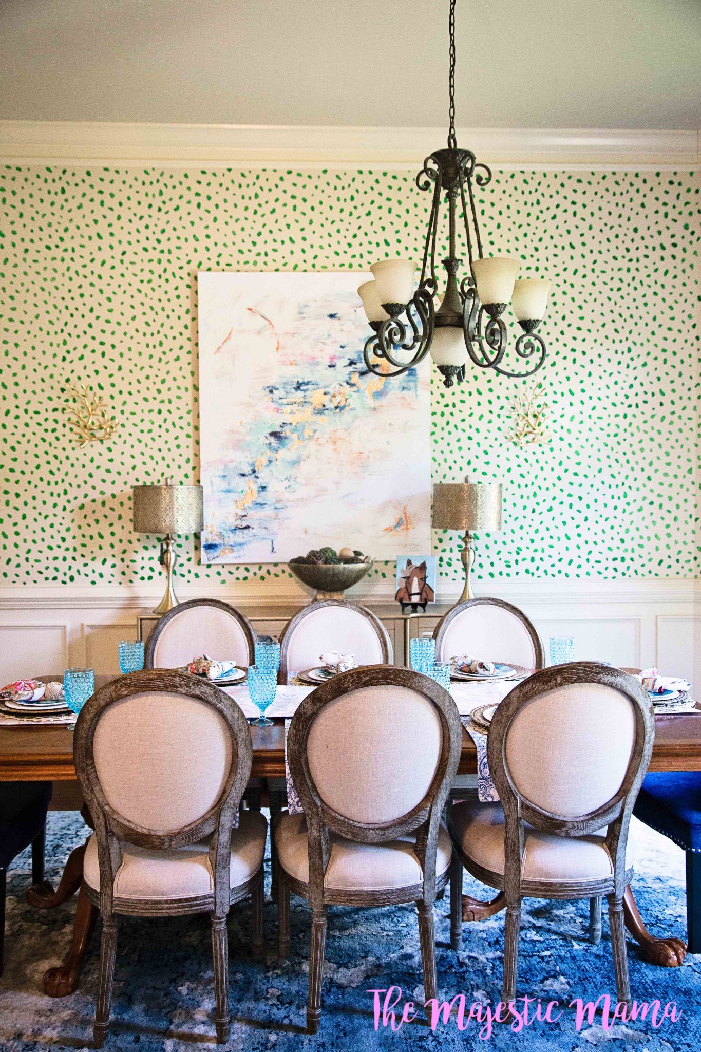 How to Make a Statement With a Chandelier – The Majestic Mama