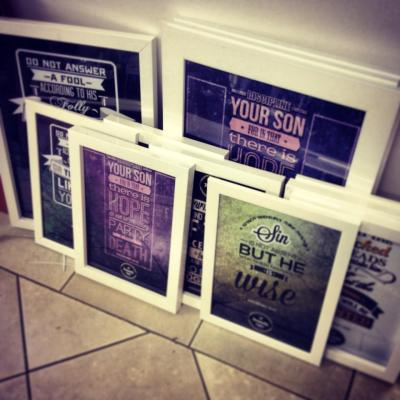 proverbs projects art scripture wisdom prints typography