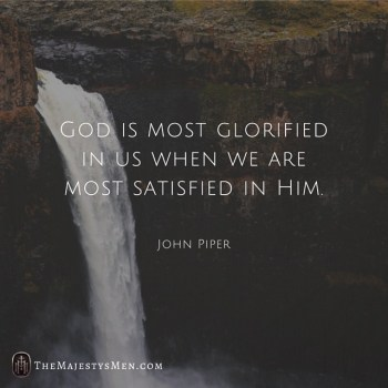 John Piper on Purpose Of Life and Happiness – [Quote]