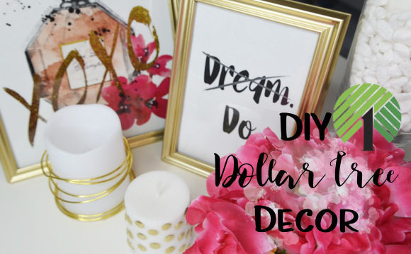 DIY Dollar Store Desk Decor!