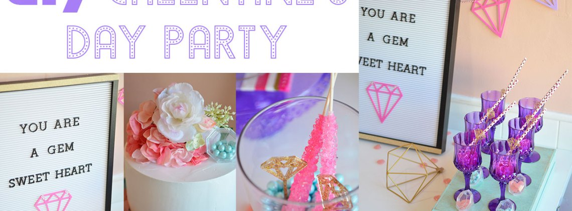 Youtube: DIY Galentine's Day Party