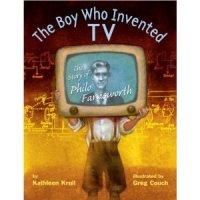 Philo Farnsworth, the boy who invented television.