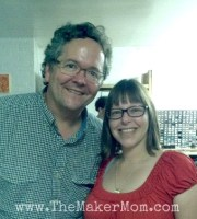 Maker Movement leader Dale Dougherty and Maker Mom Kim Moldofsky at Chicago's hackerspace, Pumping Station:1