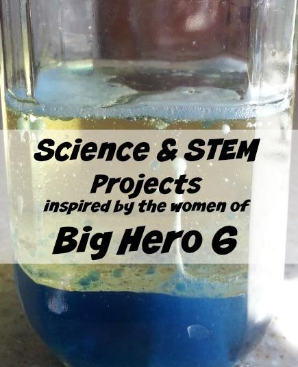 Big Hero 6 Science Fun Inspired by Honey Lemon and GoGo at www.themakermom.com