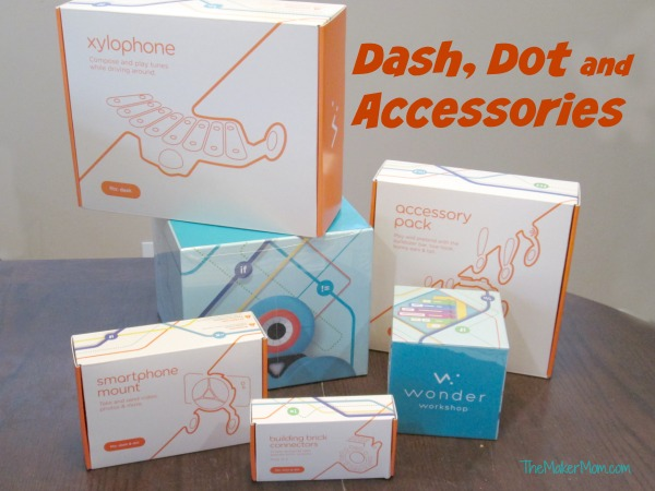 Read about Dash Robot from Wonder Company reviewed on www.TheMakerMom.com