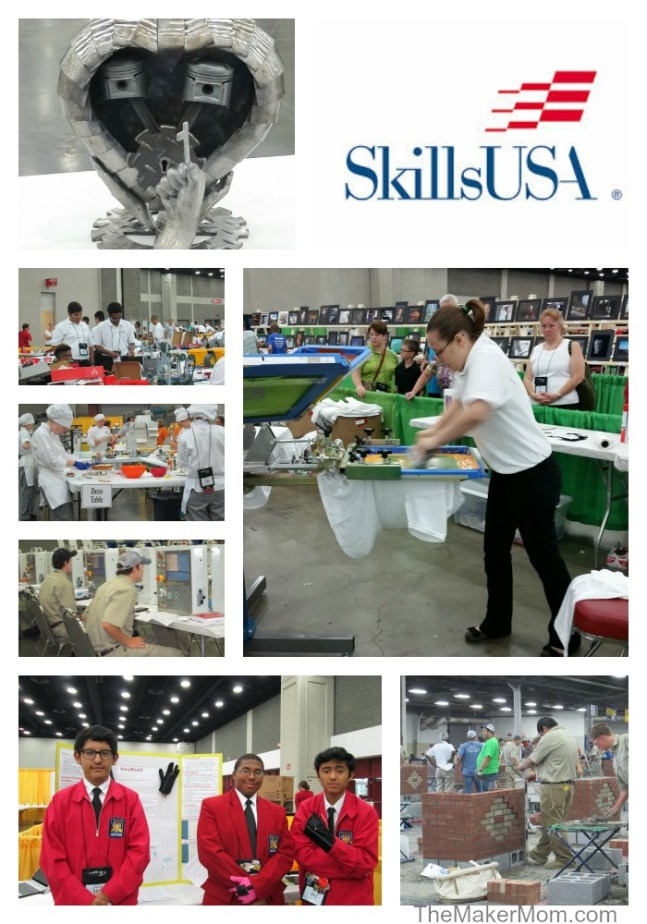 SkillsUSA provides Career and Technical Education (CTE) to help students succeed. Read more at www.TheMakerMom.com.