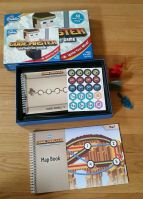 Code Master game by ThinkFun teaches the logic of computer programming. Read the mom-tested review on www.TheMakerMom.com.