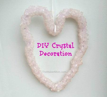 Make a DIY Crystal Heart