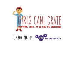 Take a look at the Girls Can! Crate, a new subscription box for young girls that's full of STEM-spiration!