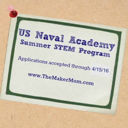 Learn about the USNA STEM Camp at the US Naval Academy