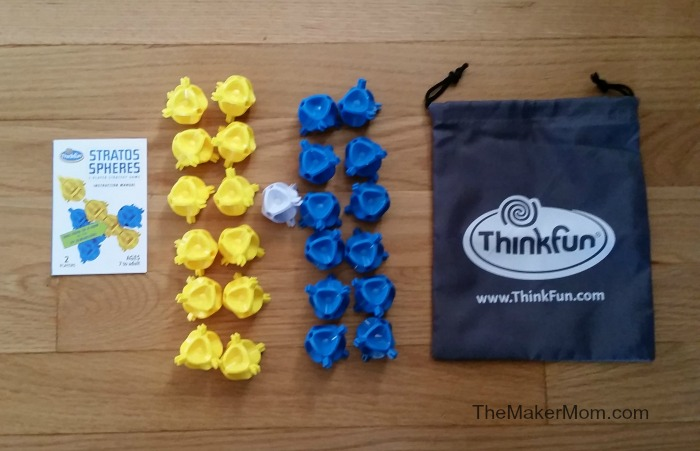 Stratos Spheres game from ThinkFun