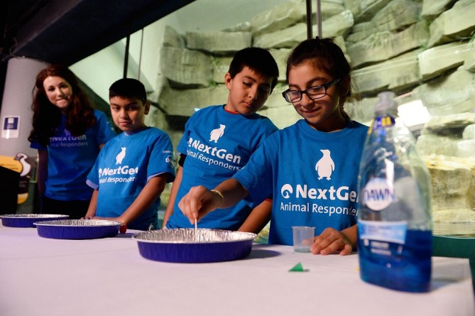 The NextGen Animal Responder Program at Shedd Aquarium with support from Dawn Dish Soap. Win a Shedd Aquarium Field Trip!
