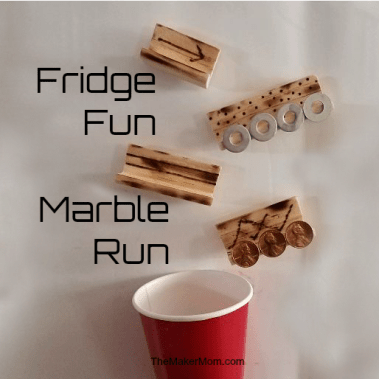 Make a DIY Marble Run with The Maker Mom!