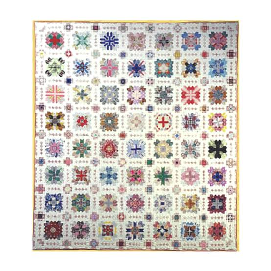 Patchwork of the Crosses Quilt - Lucy Boston 01