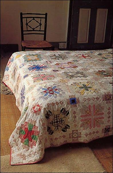 Patchwork of the Crosses Quilt - Lucy Boston 02