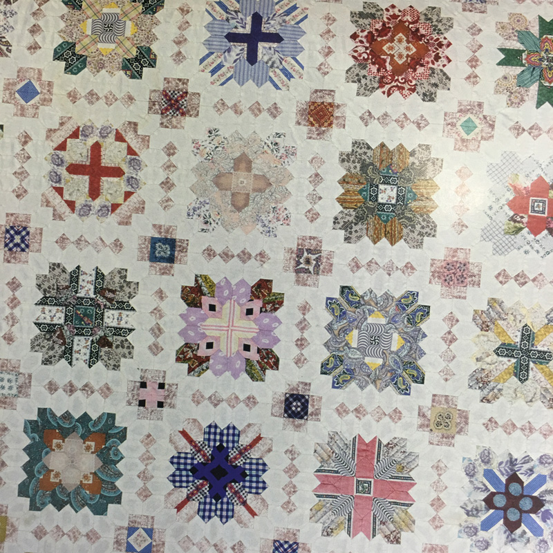 Patchwork of the Crosses Quilt - Lucy Boston 05