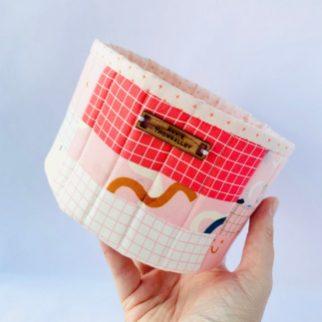 Fabric Storage Basket - Zoe Mayson Etsy