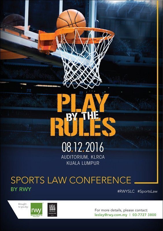RWY's upcoming Sports Law Conference