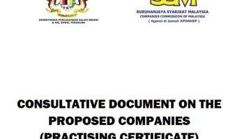 Practising Certificate For Company Secretaries And The Duties Of Company Secretaries